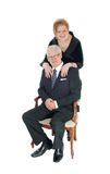 Older couple smiling. Royalty Free Stock Images