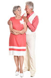 Older couple spending Royalty Free Stock Photo