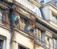 Older facade in Belgrade Stock Photos