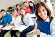Older female student Stock Images