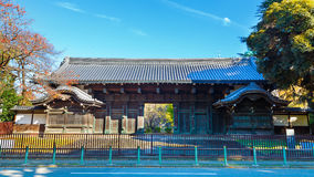 The older gate of the Tokyo National Museum in Ueno Park Royalty Free Stock Image