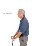 Older Golfer Royalty Free Stock Photography