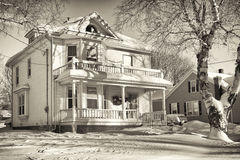 Older Home Stock Photography