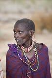 Older Maasai woman Royalty Free Stock Photos