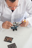 PC Repairman Stock Images