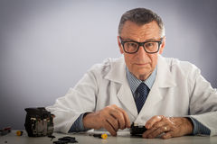 Senior Technician Stock Images
