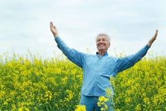 Older man Stock Photo