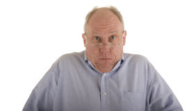 Older Man Shrugging Stock Images