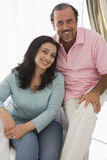 An older Middle Eastern couple Stock Photography