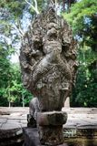 Older Naga Statue Royalty Free Stock Image