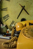 Older phones of vintage. Royalty Free Stock Photography