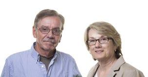 Older senior couple Royalty Free Stock Photography