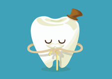 Older tooth Royalty Free Stock Image