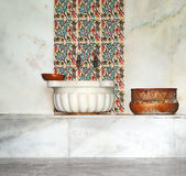 Older, Turkish bath royalty free stock image