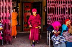 Older women pilgrims Royalty Free Stock Photos