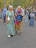 Older women in sari