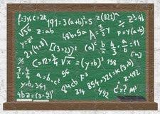Oldest blackboard Stock Photo