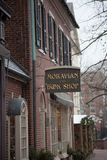 Oldest bookstore Moravian Book Shop Royalty Free Stock Photos