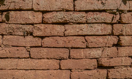 The oldest brick wall. The background texture. The background texture. The oldest brick wall Stock Image
