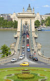 Oldest bridge in Budapest Royalty Free Stock Photos