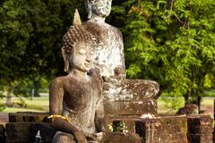 Oldest buddhas Royalty Free Stock Images