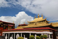 The oldest buddism temple in Lhasa Stock Image