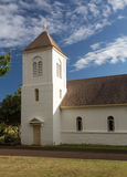 Oldest Catholic church on Kauai stock images