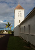 Oldest Catholic church on Kauai stock photo