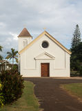 Oldest Catholic church on Kauai Royalty Free Stock Images
