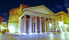 The oldest Catholic church in Rome - The Pantheon stock photography