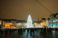 The oldest Christmas Market in Europe - Strasbourg, Alsace, Fran Stock Images