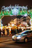 The oldest Christmas Market in Europe - Strasbourg, Alsace, Fran Stock Image