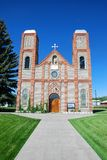 Oldest church in Colorado Royalty Free Stock Photo