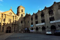 Oldest church in Manila Philippines. San Augustine Church musuem Royalty Free Stock Photo