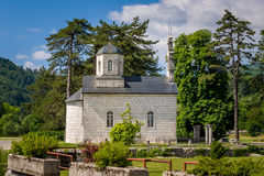 Oldest church of Montenegro Stock Photos