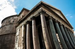 The Pantheon, Rome, Italy royalty free stock photos