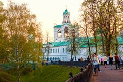 The oldest church in Yaroslavl, Russia Stock Photography