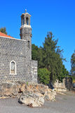 The oldest churches in the Sea of Galilee Stock Photo