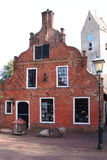Oldest commanders house of Nes, Ameland, Holland Stock Image