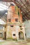 Oldest Continuous Metals Furnace In Europe. Oldest Metal Furnace In Europe Designed To Work 24 Hour stock image