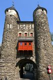 Oldest Dutch city gate the Helpoort in Maastricht Royalty Free Stock Photos