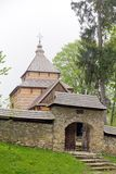 The oldest eastern orthodox church architecture in poland in radruz from 16th century Stock Photos