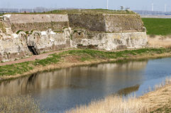 The oldest European sea fort Rammekens, Netherlands Stock Photo