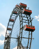 The oldest Ferris Wheel in Vienna Royalty Free Stock Photo