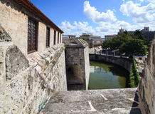 Oldest fortress in Cuba - castillo de la Real Fuerza. Stock Photo