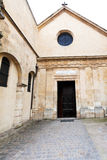 Church Saint-Julien-le-Pauvre in Paris Stock Photo