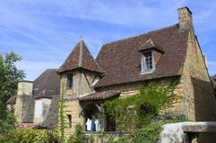 Oldest house in Sarlat Stock Image