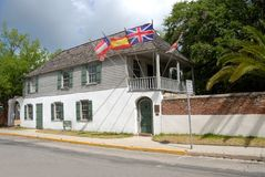 Oldest house in St. Augustine Stock Image