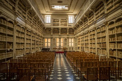 Oldest library on Sardegna Stock Image