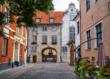 Oldest medieval building in Riga, Latvia Stock Image